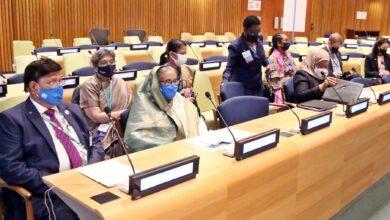 Photo of একটি নেটওয়ার্ক গঠন করা দরকার বিশ্বের নারী নেতাদের : শেখ হাসিনা