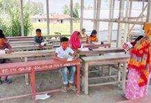 Photo of ঘরে চলছে শিক্ষা কার্যক্রম দরজা-জানালাবিহীন