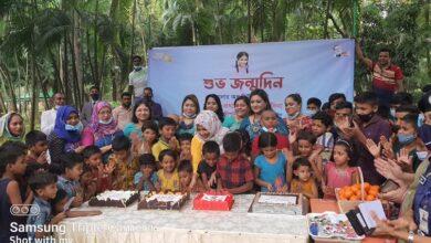 Photo of মাননীয় প্রধানমন্ত্রীর জন্মদিন পথশিশুদের নিয়ে উদযাপন করলেন পুনাক সভানেত্রী