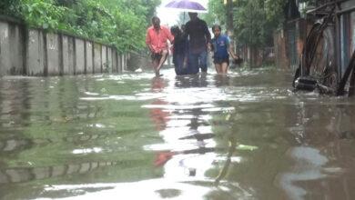 Photo of পানির নিচে রংপুর নগরী
